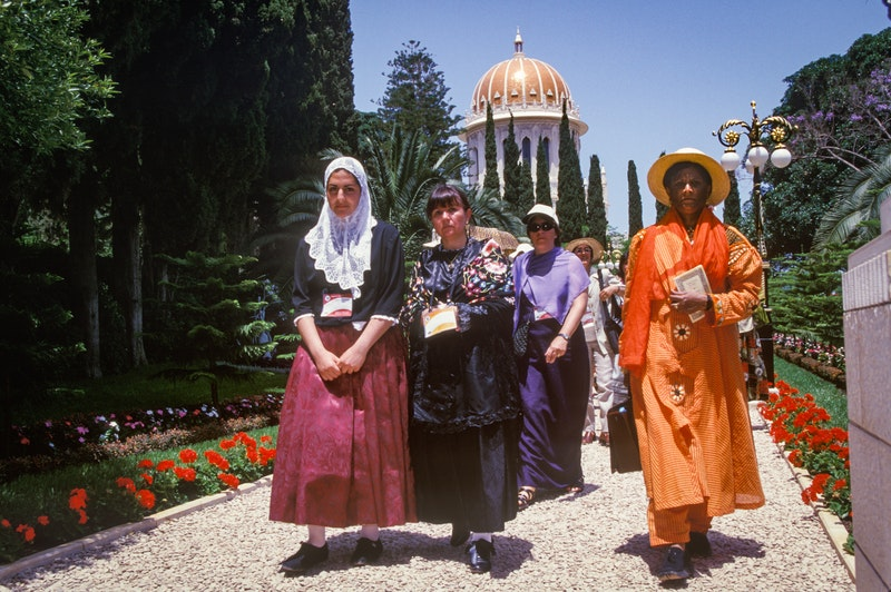 The opening of the Terraces of the Shrine of the Báb, 23 May 2001