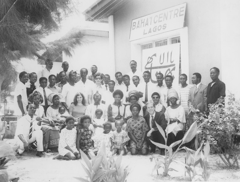 Participants of the first National Convention in Lagos, Nigeria, 1970