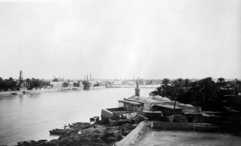 Historical view of Baghdad, Iraq, c. 1930