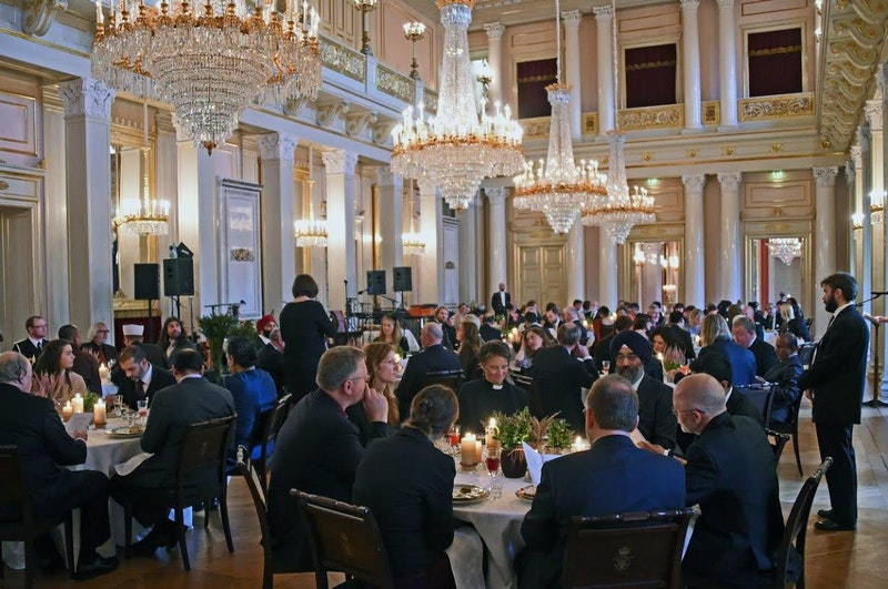 Up to 90 representatives from diverse religious organizations gathered at the royal