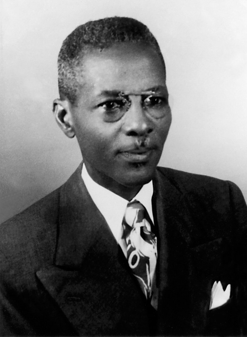 Julius Edwards, Knight of Baha'u'llah for Ghana in 1953.