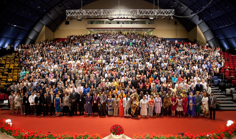 Delegates to the 11th International Convention, Haifa, 2013