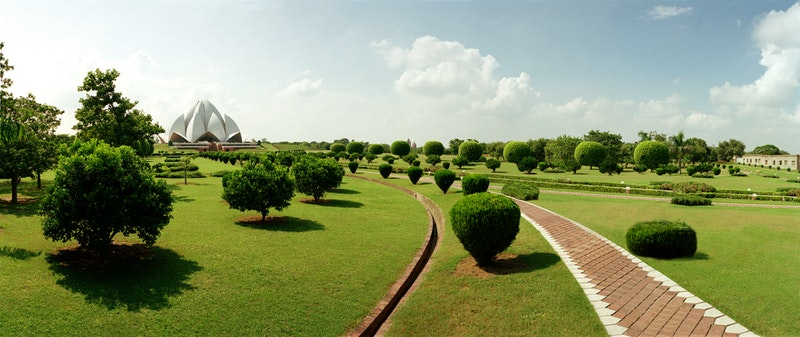 Continental Bahá'í House of Worship of the Indian Subcontinent (New Delhi, India)