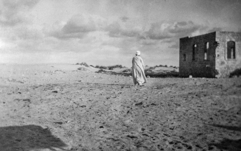 'Abdu'l-Bahá in the Holy Land, c. 1920