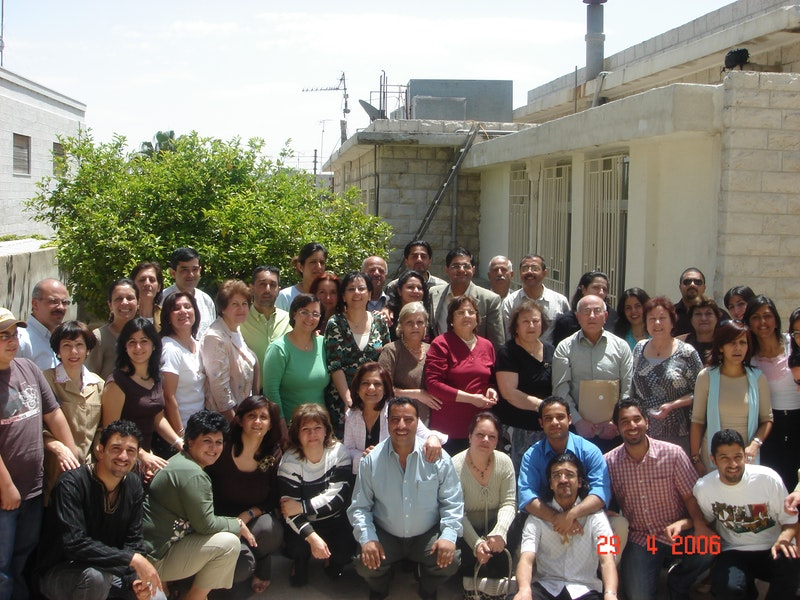 Participants of the National Convention in Amman, Jordan, 2006