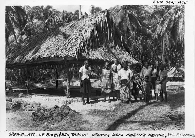Hand of the Cause Collis Featherstone and Mrs. Featherstone with the Local