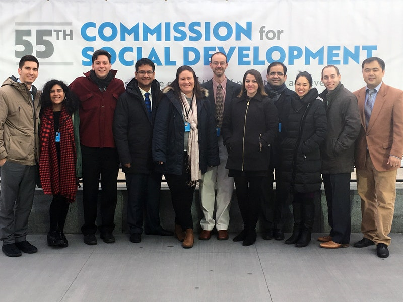 The BIC delegation to the 55th Commission for Social Development