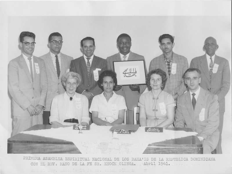 First National Spiritual Assembly of the Bahá'ís of the Dominican Republic,