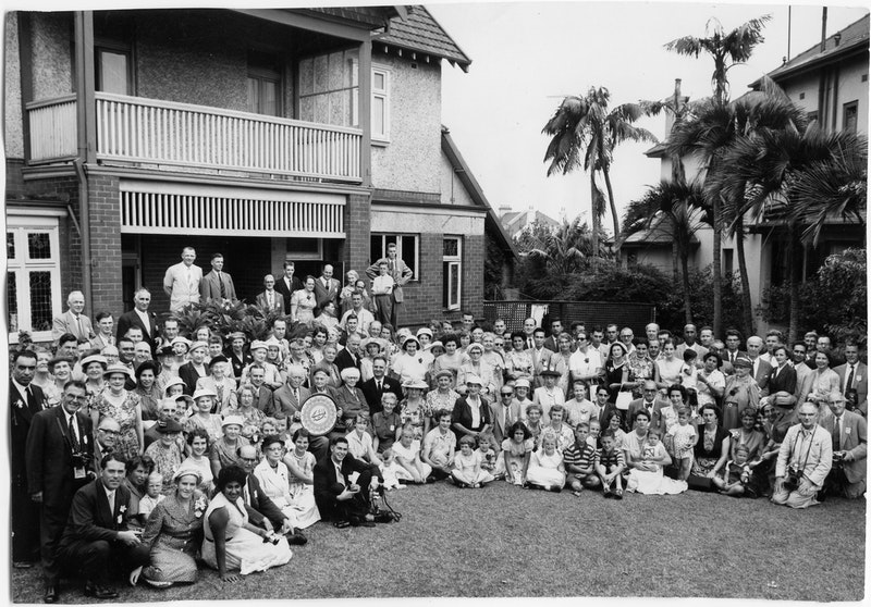 Australian Intercontinental Conference, with Bahá'ís from 19 countries in