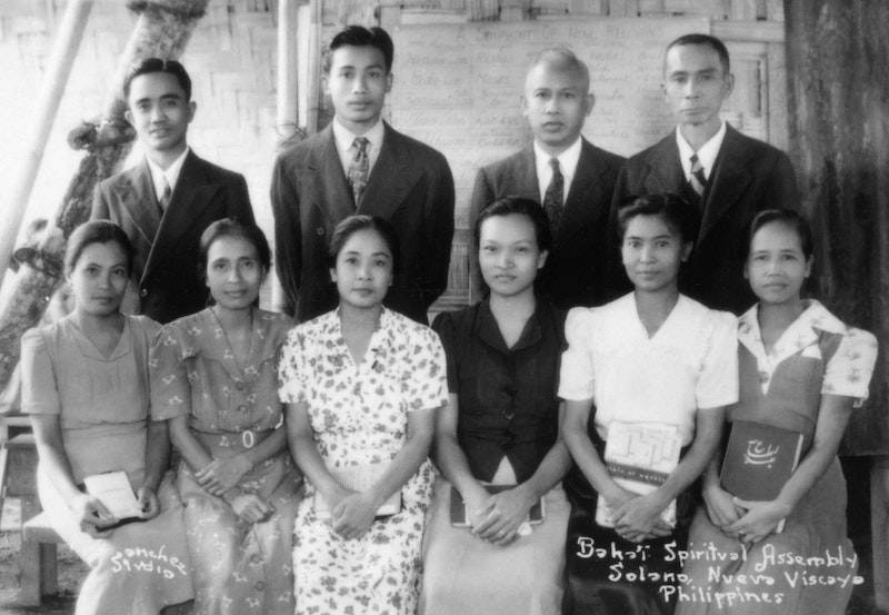Local Spiritual Assembly of the Bahá'ís of Solano, Philippines, c.