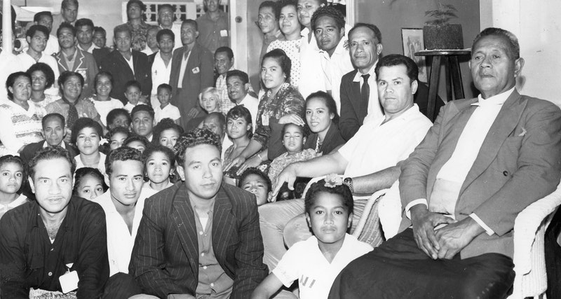 Participants of the National Convention of the South Pacific Ocean in Tonga,
