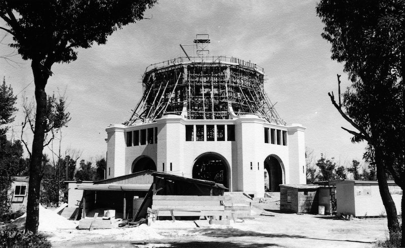 Construction of the Continental Bahá'í House of Worship of Australasia (Sydney,