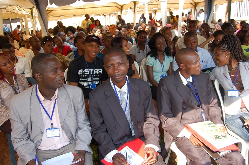 Yaounde, Cameroon, one of 41 Regional Conferences held around the world called by