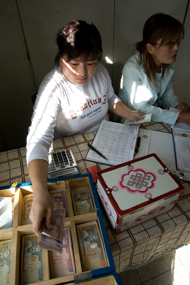 A community banking project in Murun, Mongolia