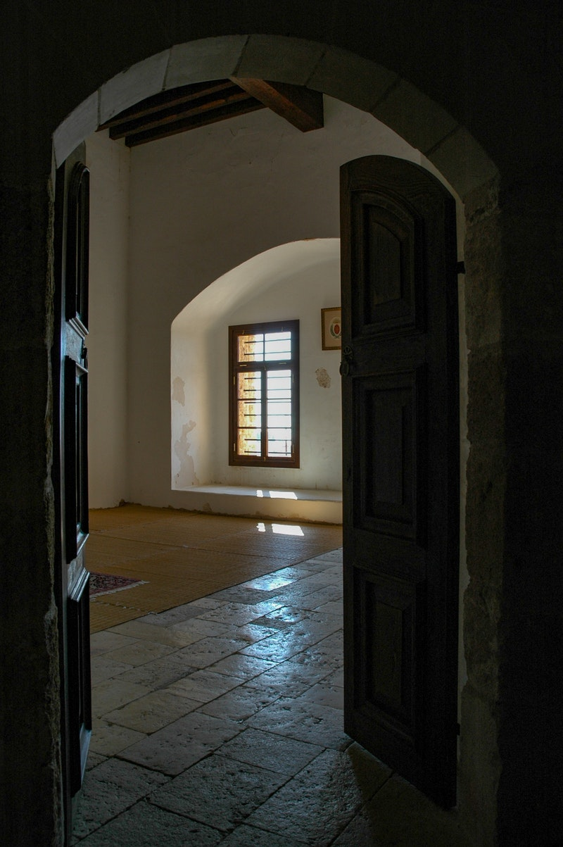 Entrance to the Prison Cell of Bahá'u'lláh