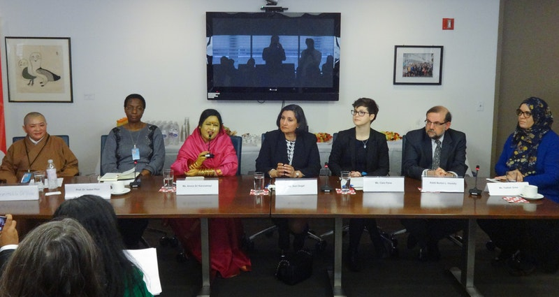 At the discussion hosted by the BIC, panellists from several prominent NGOs joined