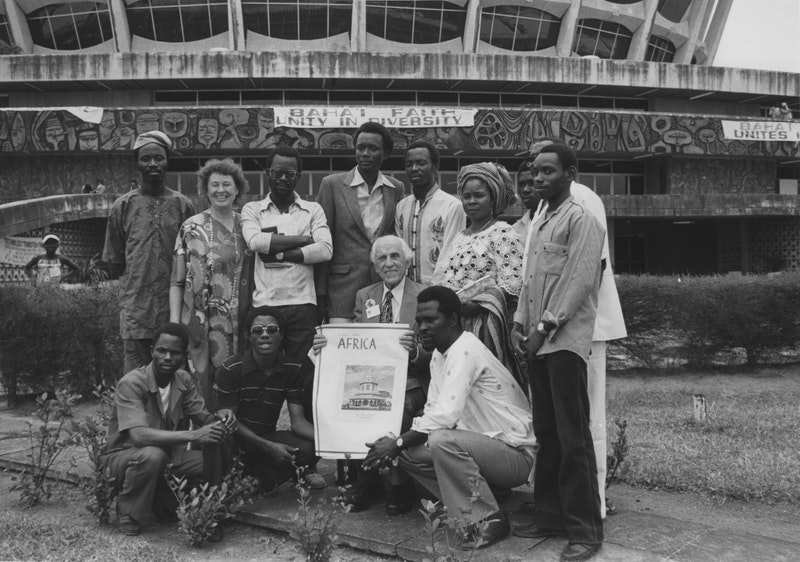 International Teaching Conference, with Hand of the Cause John Robarts, Lagos,
